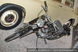 Мотоцикл Минск М-103 в автомузее Моторы Октября в Москве