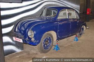 Tatra T600 Tatraplan в автомузее Моторы Октября в Москве