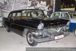 ГАЗ-13 Чайка 1980 года в автомузее Моторы Октября в Москве
