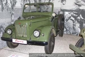 ГАЗ-69 1956 года в автомузее Моторы Октября в Москве