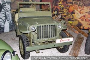Willys MB 1944 года в автомузее Моторы Октября в Москве