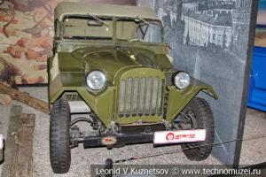 ГАЗ-67Б 1945 года в автомузее Моторы Октября в Москве