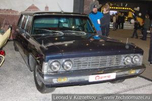 ЗиЛ-114 1970 года в автомузее Моторы Октября в Москве