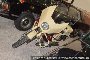Мотоцикл Днепр в автомузее Моторы Октября в Москве