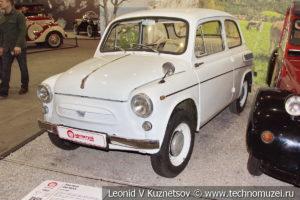 Запорожец ЗАЗ-965А 1962 года в автомузее Моторы Октября в Москве