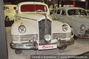 ЗиС-110 в автомузее Моторы Октября в Москве