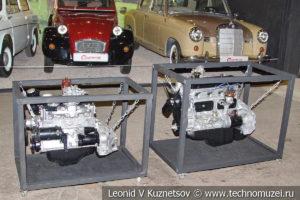 Автомобильные двигатели в автомузее Моторы Октября в Москве
