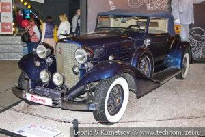 Родстер Cadillac V-12 Series 370 1933 года в автомузее Моторы Октября в Москве