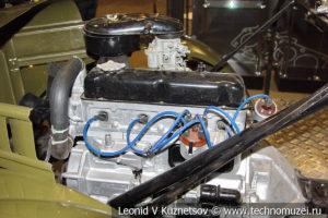 Шасси ГАЗ-69 для любопытных в автомузее Моторы Октября в Москве