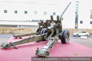 122-мм корпусная пушка-гаубица А-19 образца 1931/1937 годов в Музее обороны Москвы