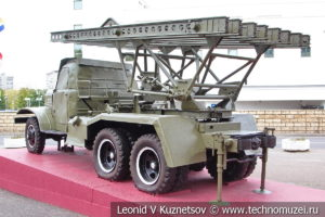 132-мм система залпового огня БМ-13НН (52-У-941Б) в Музее обороны Москвы