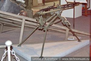 Немецкий пулемет MG-34 образца 1934 года на складном станке в Музее обороны Москвы