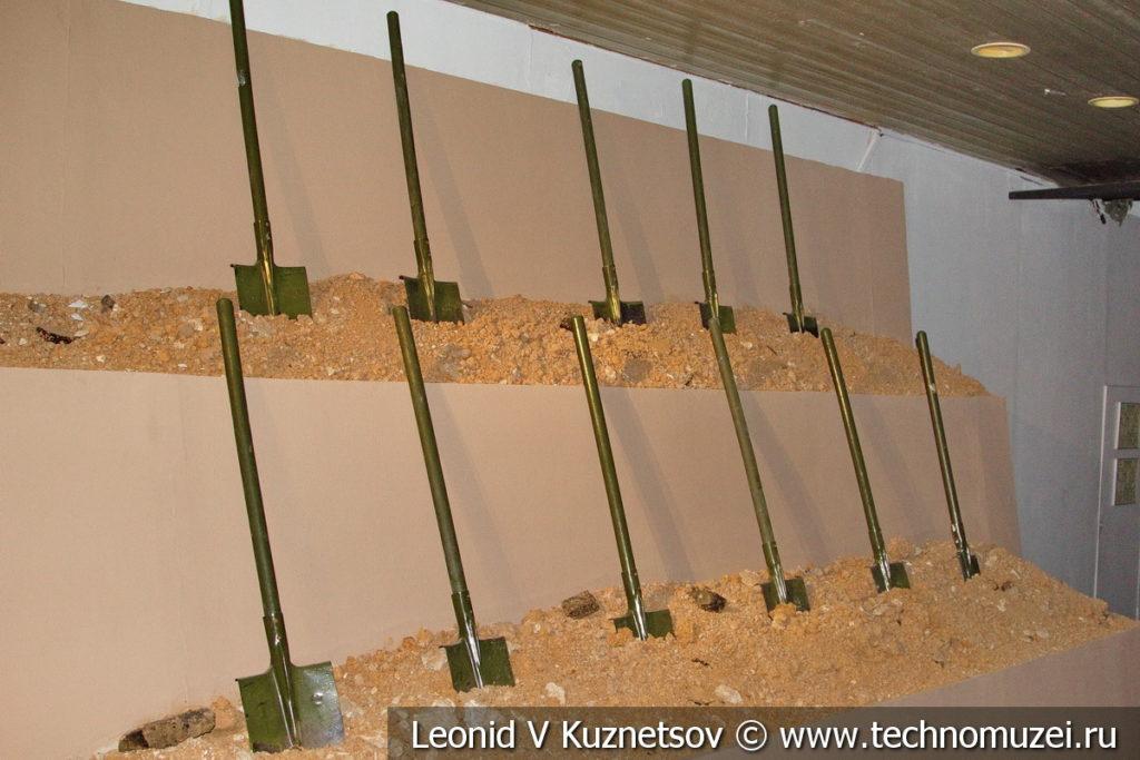 Строительство оборонительных рубежей в Музее обороны Москвы
