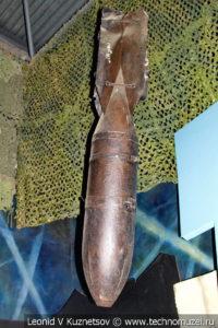 Неразорвавшаяся фугасная бомба в Музее обороны Москвы