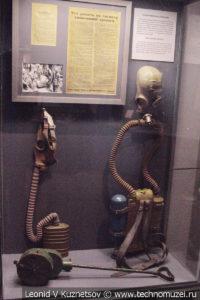 Противогазы в Музее обороны Москвы