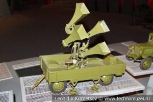 Макет звукоуловителя ЗТ-4 в Музее обороны Москвы