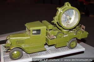 Макет прожекторной установки ЗиС-15 в Музее обороны Москвы