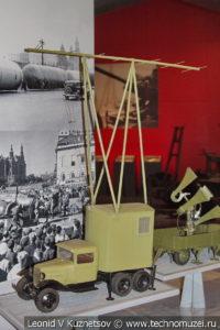 Макет станции РУС-2 в Музее обороны Москвы