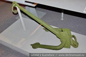 Якорь для крепления на земле аэростата в Музее обороны Москвы