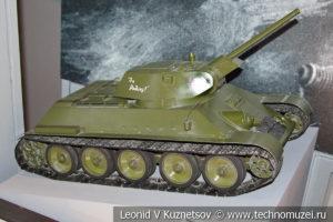 Модель танка Т-34 в Музее обороны Москвы