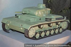 Модель танка Т-III в Музее обороны Москвы