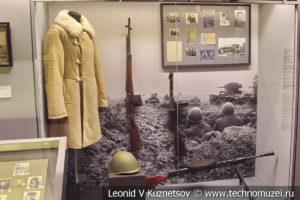 Стенды о конных корпусах Доватора и Белова в Музее обороны Москвы