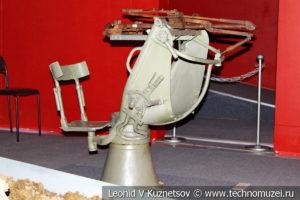 Турельная установка сбитого бомбардировщика в Музее обороны Москвы