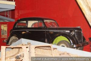 Opel Olympia в Музее обороны Москвы