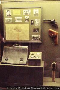 Стенды о партизанах и подполье в Музее обороны Москвы