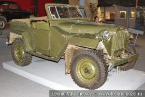 ГАЗ-67Б в Музее обороны Москвы
