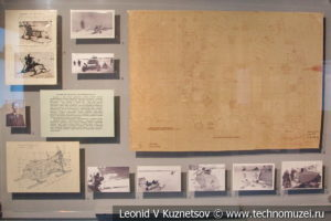 Аэросани на фронте в Музее обороны Москвы