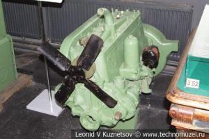 Двигатель ЗиС-5 в Музее обороны Москвы