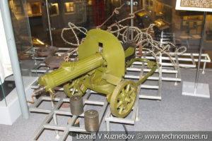 Пулемет Максим в Музее обороны Москвы