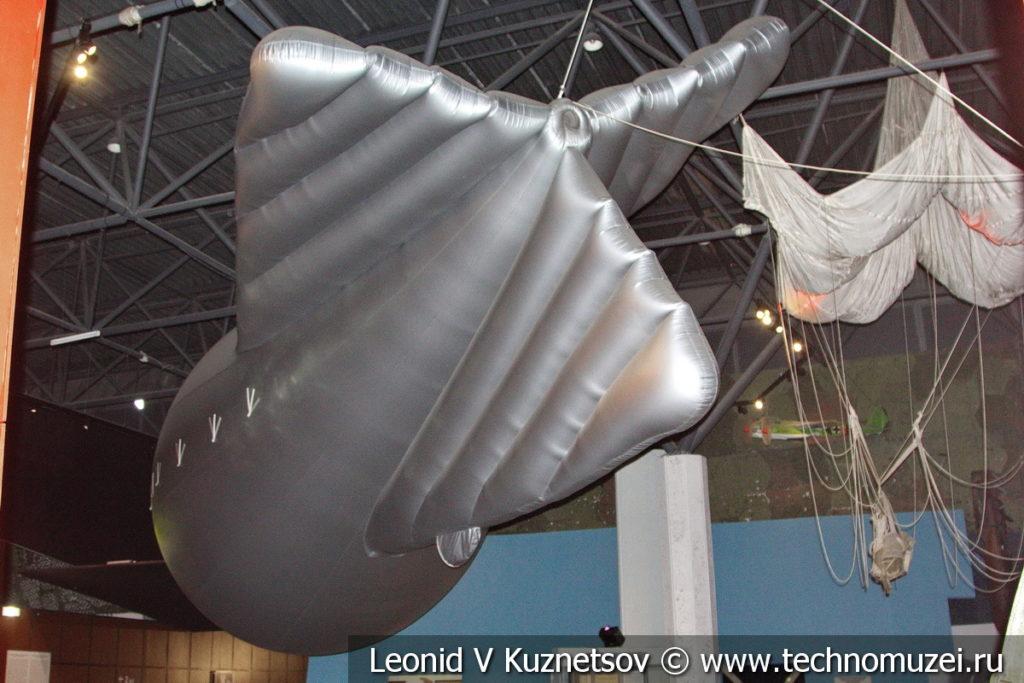 Аэростат в Музее обороны Москвы
