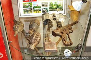 Стенды акции Вахта памяти в музее магистрального транспорта газа