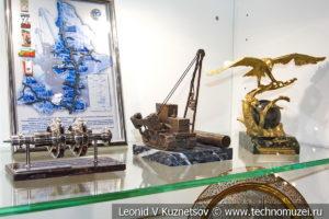 Подарки предприятию в музее магистрального транспорта газа