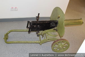 Станковый пулемет Максим в музее магистрального транспорта газа