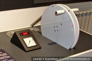 Макет Адиабатический процесс при компримировании газа в музее магистрального транспорта газа