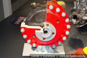 Регулятор давления РДПР-50 в музее магистрального транспорта газа