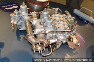 Дозатор газа ДГ-16 в музее магистрального транспорта газа