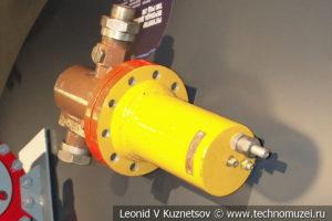 Регулятор перепада давления РПД-2М в музее магистрального транспорта газа