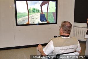 Стенд Безопасность на газопроводе в музее магистрального транспорта газа