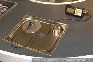 Ультразвуковой дефектоскоп в музее магистрального транспорта газа