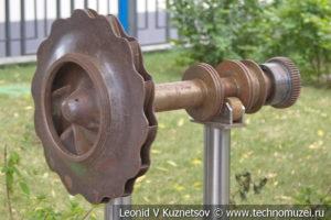 Ротор нагнетателя газоперекачивающего агрегата в музее магистрального транспорта газа