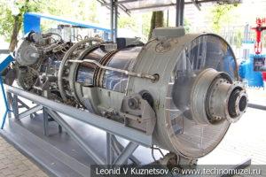 Газотурбинный двигатель НК-12СТ в музее магистрального транспорта газа
