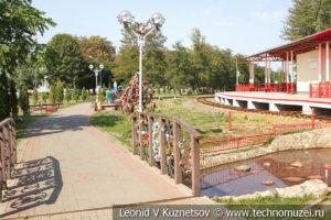 Аллея невест в Детском парке в Новомосковске