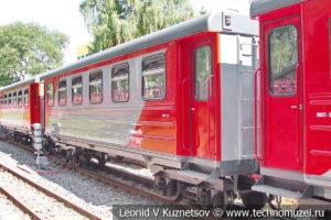 Пассажирский вагон 43-0011 Музыкальный на Тульской детской железной дороге