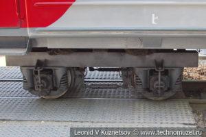 Пассажирский вагон 43-0011 на Тульской детской железной дороге