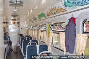 Пассажирский вагон 43-0011 Свадебный на Тульской детской железной дороге