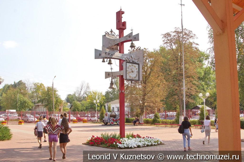 Станция Березки на Тульской детской железной дороге